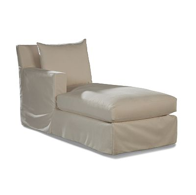 LF One Arm Chaise - Club Depth