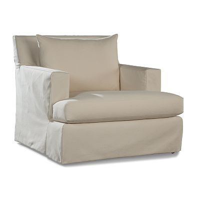 Swivel Lounge Chair - Club Depth