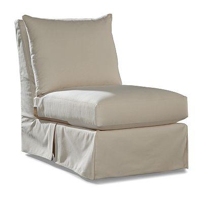 Carolyn Armless Chair- Club