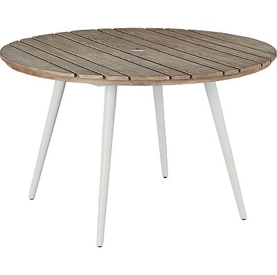 Round Dining Table - Aluminum Top