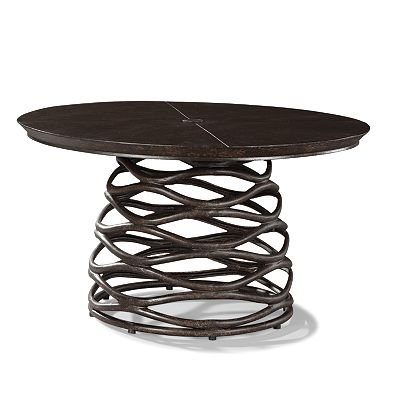 42 Round Conversation Cocktail Table From The Industrial Renaissance Collection At