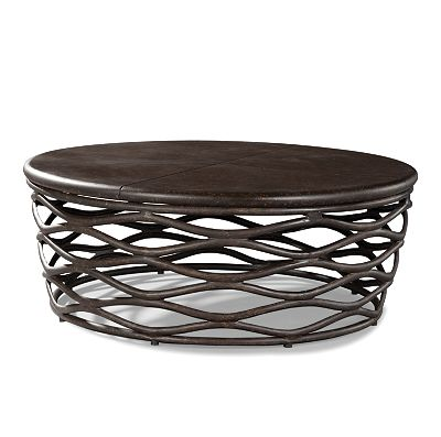 48 Quot Round Cocktail Table From The Industrial Renaissance