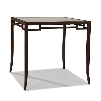 Bar Height Square Dining Table
