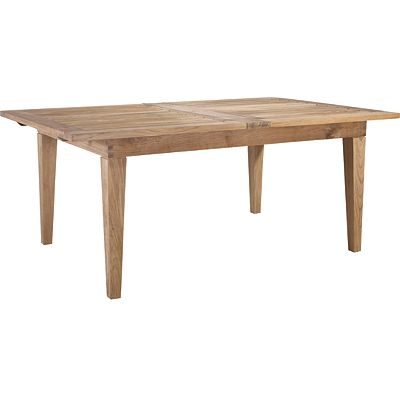 Rectangular Extension Dining Table with Leaves