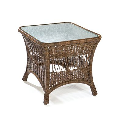 End Table Clear Glass