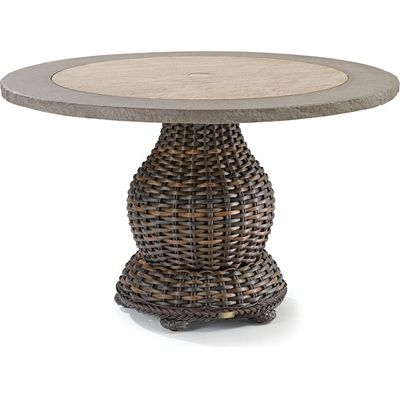 "48"" Round Pedestal Dining Table  - Composite Top"