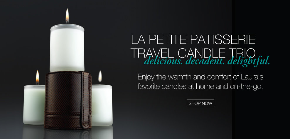 La Petite Patisserie Travel Candle Trio