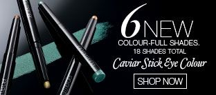 6 New Caviar Stick Eye Colour Shades
