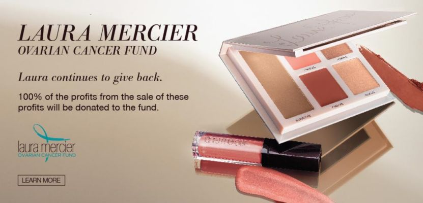 Support the Laura Mercier Ovarian Cancer Fund