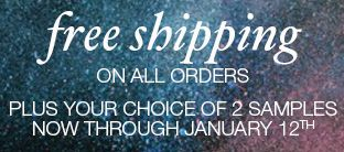Free Shipping in January