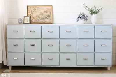 DIY Apothecary Cabinet - Tidbits