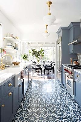 Modern Deco Kitchen Intro by Emily Henderson