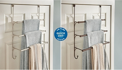 Franklin Brass® is here to solve one of your biggest bathroom challenges: damp towels.