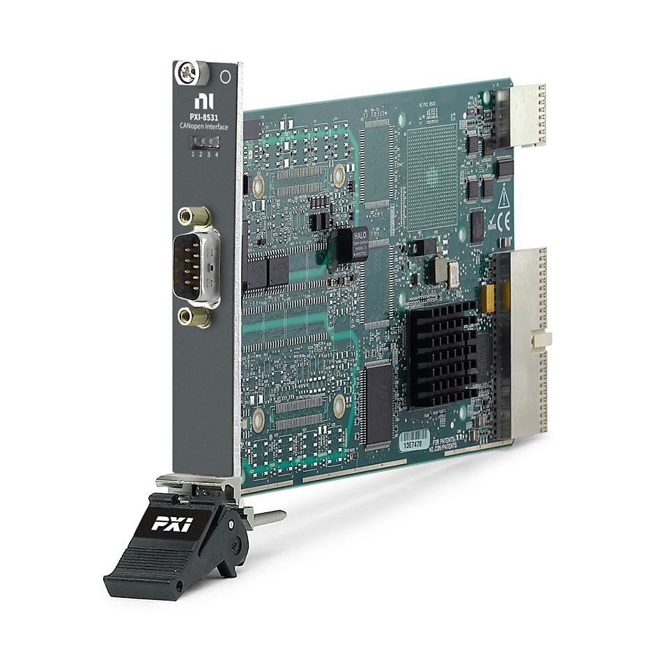 PXI CANopen Interface Module