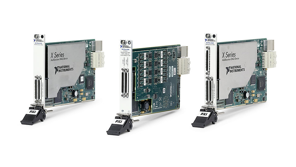 Pxi Data Acquisition System : Multifunction i o data acquisition and control