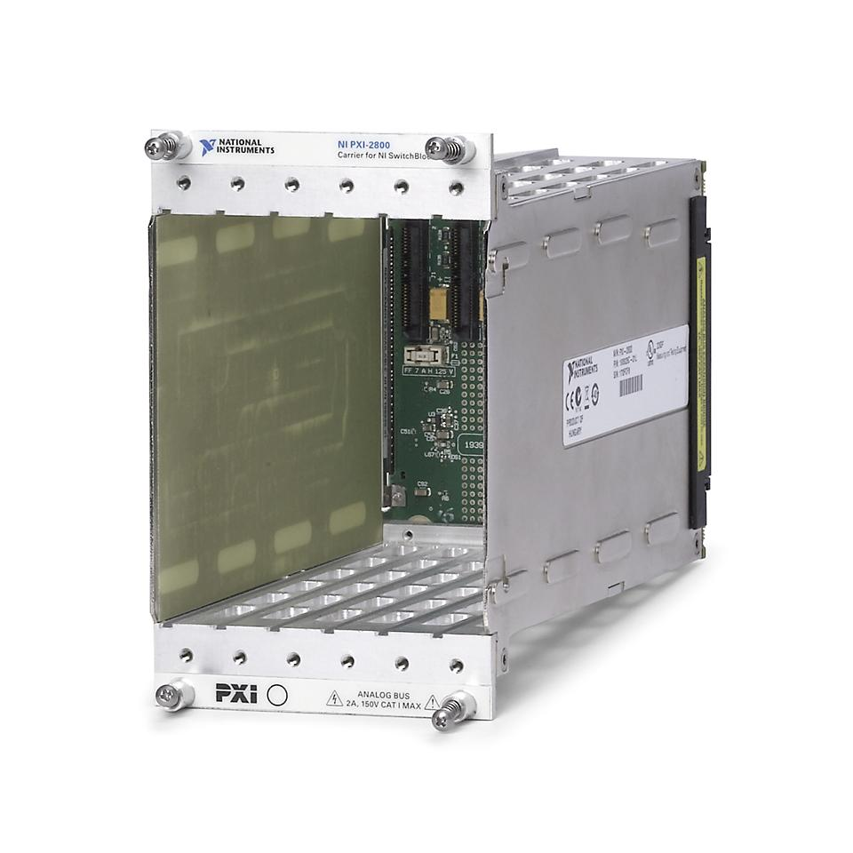 PXI Carrier Module for SwitchBlock