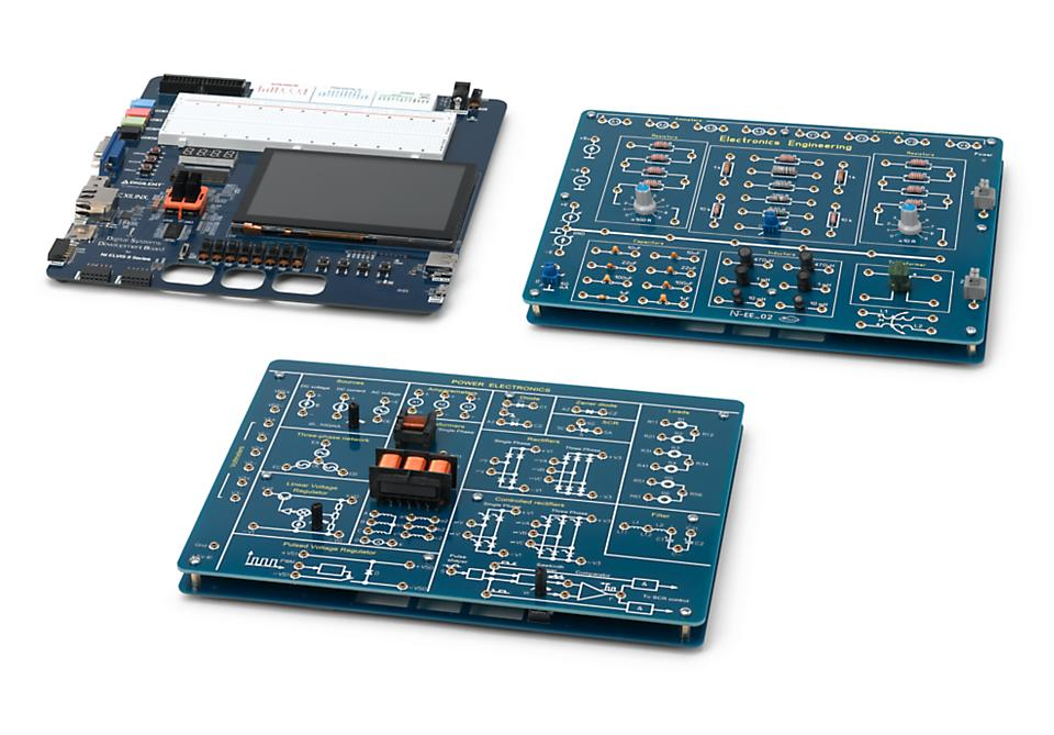 Integrator Operational Amplifiers Board for NI ELVIS II/II+