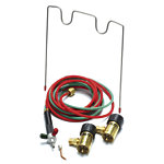 Smith 23-1014 Little Torch Propane Kit With 1 Tip, Preset Oxygen & Propane Regulators For Disposable Tanks