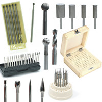 Burs, Drills & Diamond Bits