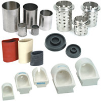 Casting Supplies, Flasks, Sprue Bases & Casting Machine Crucibles
