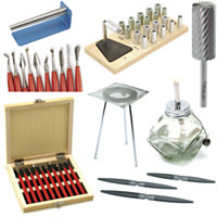 Wax Carving Tools, Burs, Files, Sawblades, Mandrels & Alcohol Lamps