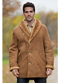 Men's Cowboy Will Shearling Sheepskin Coat