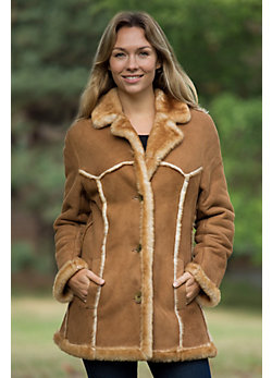 Women's Sonya Shearling Sheepskin Rancher Jacket