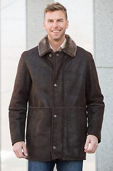 Jeffrey Merino Shearling Sheepskin Coat