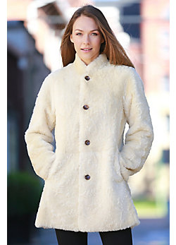 Women's Link Reversible Shearling Sheepskin Coat