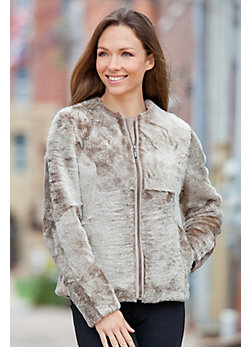 Women's Anders Mouton Shearling Sheepskin Jacket