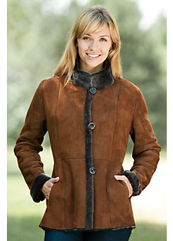 Women's Rachael Shearling Sheespkin Coat