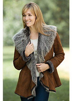 Women's Maggie Shearling Sheepskin Jacket