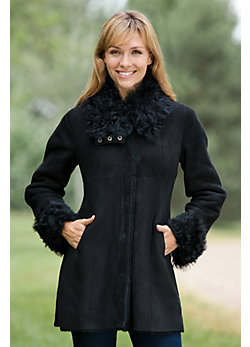 Women's Marianne Shearling Sheepskin Jacket