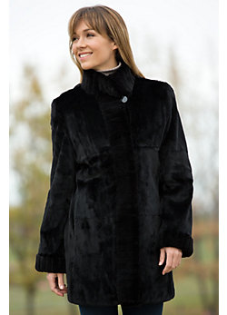Women's Celine Reversible Mink Fur Coat