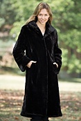 Women's Delray Sheared Beaver Fur Coat