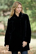 Women's Ilana Sheared Beaver Fur Coat