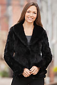 Talia Mink Fur Jacket