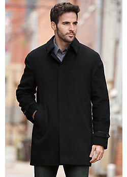 Men's Thoreau Cashmere Jacket with Sheared Mink Fur Liner