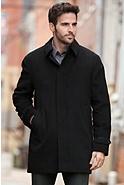 Thoreau Cashmere Coat with Mink Fur Liner