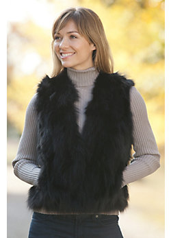 Women's Lydia Fox Fur Vest