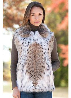 Petra Lynx Fur Vest