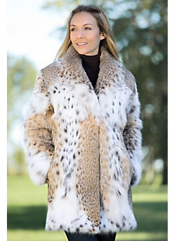 Women's Katarina Lynx Fur Coat