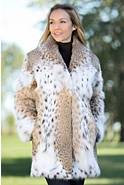 Katarina Lynx Fur Coat