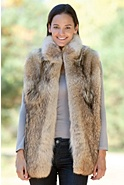 Women's Mariah Coyote Fur Vest