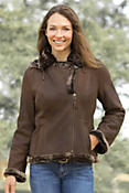 Women's Stella Shearling Sheepskin Jacket
