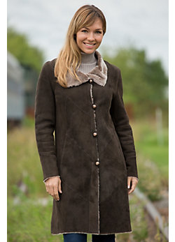 Women's Katrine Shearling Sheepskin Coat