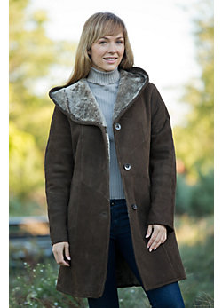 Women's Maxine Shearling Sheepskin Coat