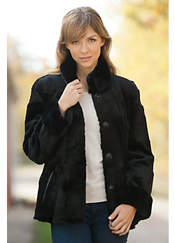 Women's Mara Rabbit Fur Coat