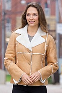 Krystal Shearling Sheepskin Jacket