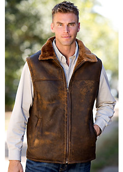 Men's Dwayne Shearling Sheepskin Vest